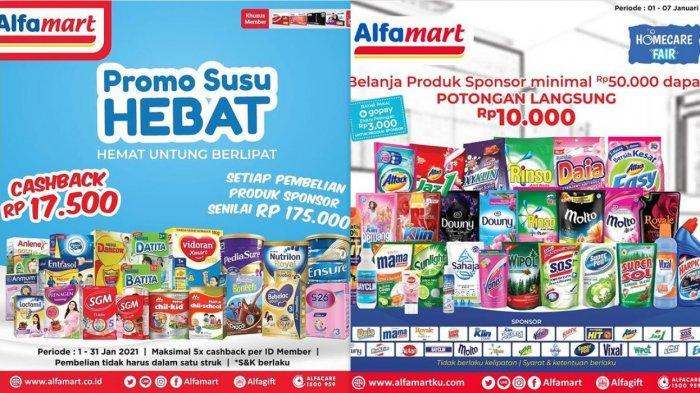 Promo Alfamart Hari Ini 5 Januari 2021 Kejutan Super Monday hingga Serba Gratis, Cek Sekarang!