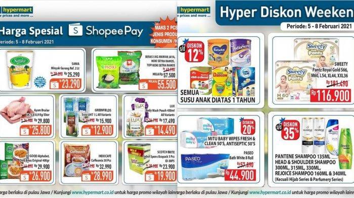 Promo Terbaru Hypermart 5 Februari 2021, Dagaing Sosis Buah-buahan Susu Diapers Shampo DLL