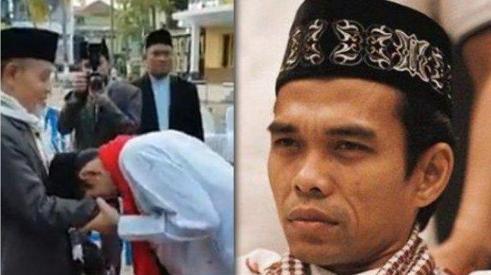 Ustaz Abdul Somad Cium Tangan KH Hasan Abdullah Sahal & Ambilkan Minum Saat Datangi Gontor, Kenapa?