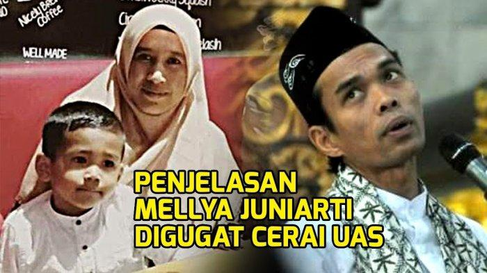 Ini Penampakan Mellya Juniarti, Unggah Foto Baru Menikah dengan UAS, Kini Dicerai Ustaz Abdul Somad