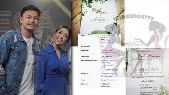 Kejanggalan Undangan Pernikahan Gisella Anastasia dan Wijaya Saputra yang Menikah Tahun Ini