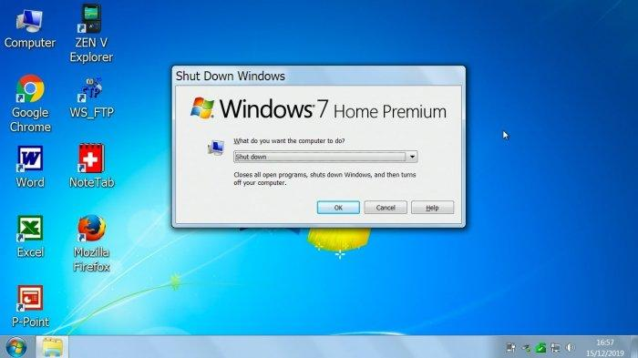 BREAKING NEWS! Windows 7 Resmi Dihentikan Hari Ini, Khusus Pengguna Segera Lakukan Ini dari Sekarang