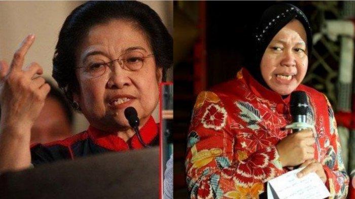 Megawati Sempat Singgung Risma, Bakar Halte Saat Demonstrasi : Mending Bisa Kalau Disuruh Ganti