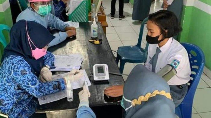 Puluhan Anggota Paskibraka Sungai Penuh Disuntik Vaksin Covid-19, Menjawab Kekhawatiran Orang Tua