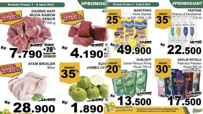 Promo Giant 6 April 2021 Harga Spesial Gula Mie Instan Margarin Daging Diskon Jelang Ramadhan 2021