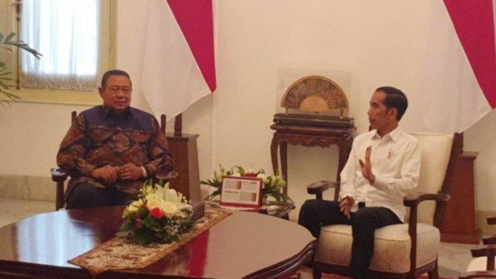 AHY Sebut Ada Kelompok Ingin Memecah Hubungan SBY-Jokowi, 'Ada Yang Mau Seseorang Jadi Capres 2024'