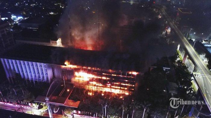 Polisi Duga Kebakaran Gedung Kejagung Ada Unsur Pidana, Sumber Api Bukan Berasal Dari Arus Pendek