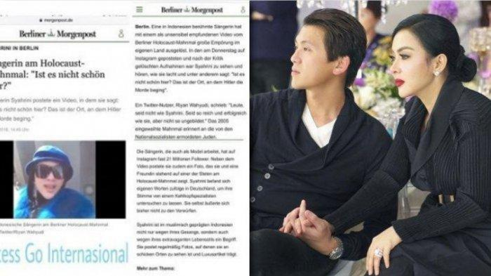 Kelakuan 'Fatal' Syahrini Pernah Jadi Sorotan Dunia Internasional Saat Liburan, Netizen: 'Kok Gitu!'