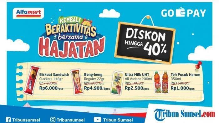 KATALOG LENGKAP: Promo Alfamart Diskon 40% Pakai Go-Pay, Pempers Mamy Poko All Size Mulai Rp 30.700