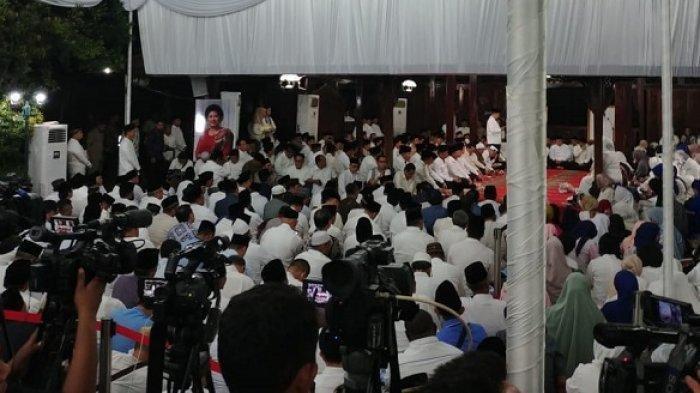 Tak Ada dari Kubu Gerindra, Ini Tokoh-tokoh yang Hadiri Tahlilan 40 Hari Meninggalnya Ani Yudhoyono