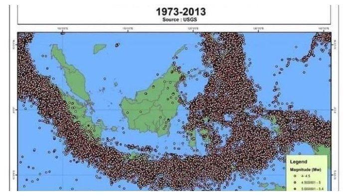 Ibu Kota Bakal Pindah, BMKG Beberkan Ancaman Gempa Dahsyat di Kalimantan Timur, 3 Sesar Masih Aktif