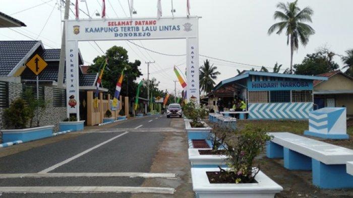 Kampung Tertib Lalu Lintas Donorejo Kota Jambi Hadirkan Keindahan, Keamanan, dan Kenyamanan