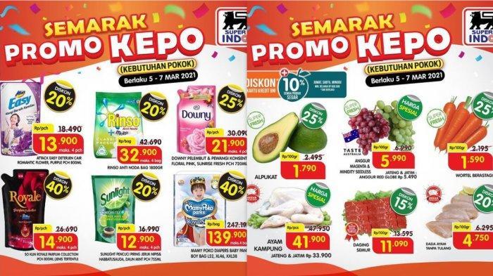 Promo Superindo Hari Ini 7 Maret 2021, Diskon Akpukat Hari Harga Rp1.790, Minyak Goreng 2L Rp22.700
