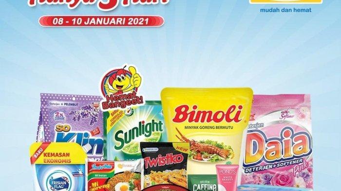 Promo Indomaret Hari Ini 9 Januari 2021, Murah Telur Minyak Beras Detergen Personal Care Mie Instan