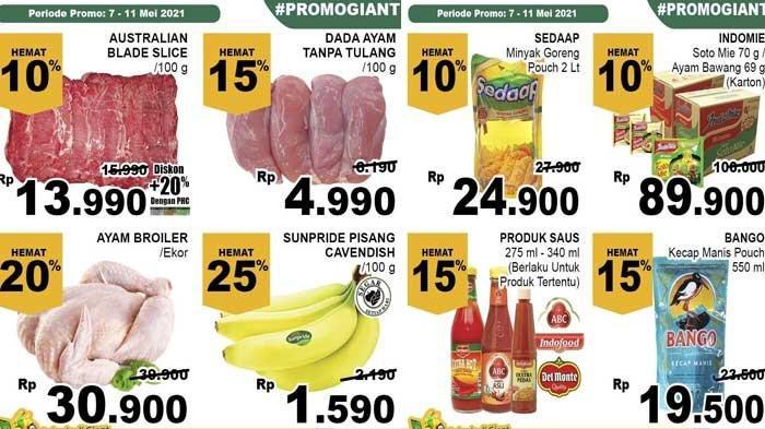 Promo Giant Jelang Hari Raya Idul Fitri 2021 Hemat Mulai 40% Udang Daging Rendang Cake Sirup DLL