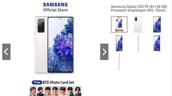 Tiga HP Samsung ini Mendapatkan Diskon Hari ini, Diantaranya Samsung Galaxy S20