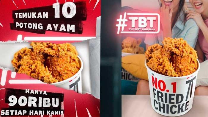 Promo KFC Hari Ini 8 Juli 2021 The Best Thursday Hingga Super Deal, Sama-sama Harga Hemat