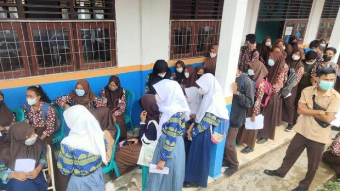 Dinas Pendidikan Muarojambi Imbau Orang Tua Siswa Dorong Anaknya Divaksin