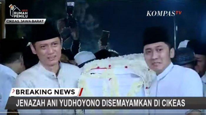 AHY Akui Sehari Sebelum Ani Yudhoyono Tutup Usia, Ada Surat Atas Nama Kakak Angkat Ahok, Ini Isinya