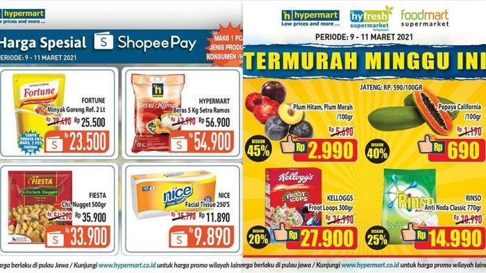 Promo Hypermart Hari Ini dan Besok 11 Maret 2021 Ada Daging Segar Rp11.950 Susu Diskon 12 Persen