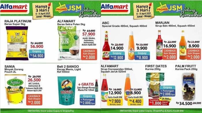 Promo Alfamart Hari Ini 9 April 2021 Beras Rp56.900 Minyak Goreng 2L Rp26.500 Diapers Dari Rp28.700