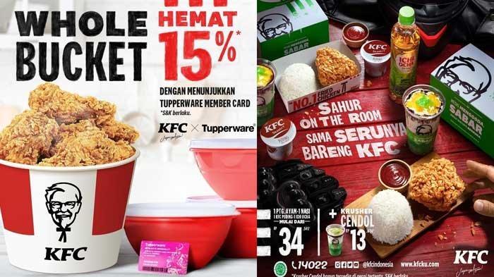 Promo KFC Terbaru Whole Bucket KFC Hemat 15% Camilan Jagoan Dari Rp18 Ribuan