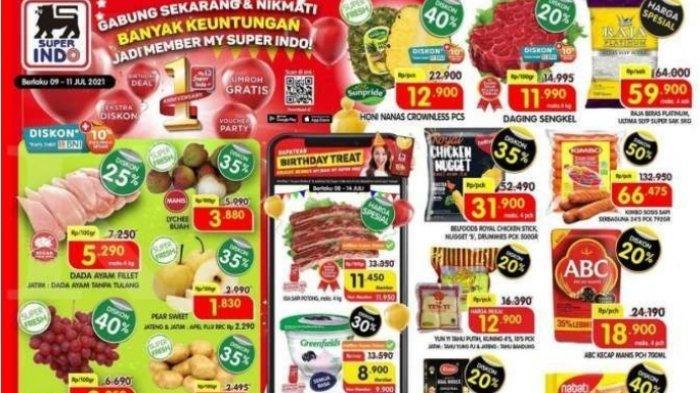 Promo Superindo Terbaru 9 Juli 2021 Diskon  Mulai Dari 15% Hingga 50%