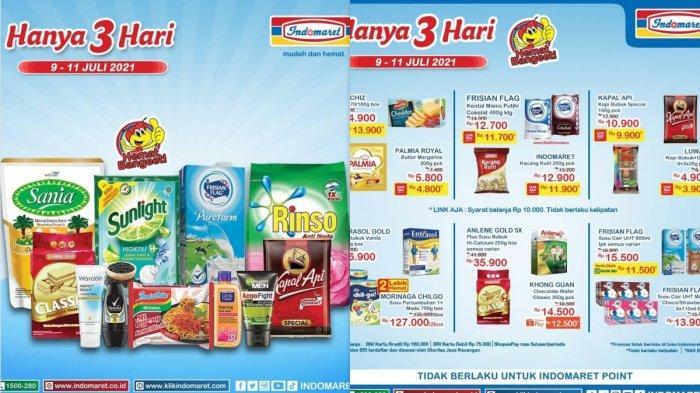 Promo Indomaret Hanya 3 Hari Tawarkan Minyak Goreng Diapers Sampo Mie Instan Beras Susu Detergen