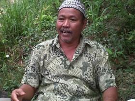 Haji Lamidin Rela Hibahkan Tanah untuk Sekolah