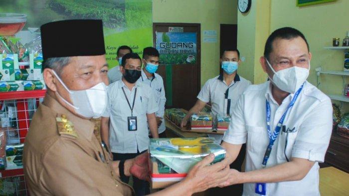 Wakil Gubernur Jambi, Abdullah Sani sambangi PTPN VI, Senin (9/8).