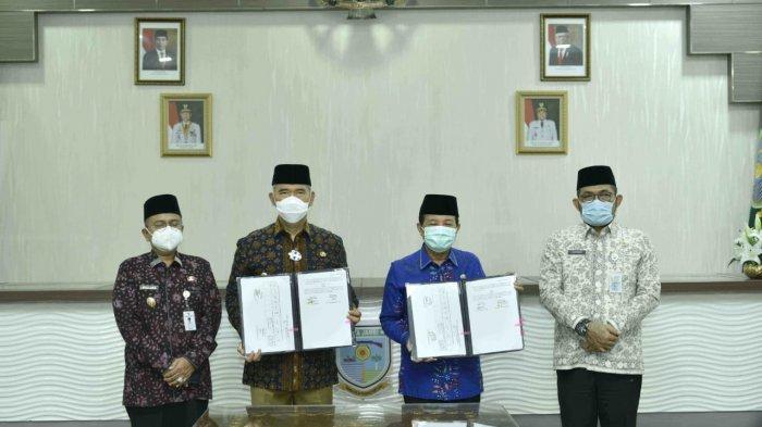 Silaturahmi dengan Wali Kota Jambi, Fachrori Bawa Kado Pembangunan