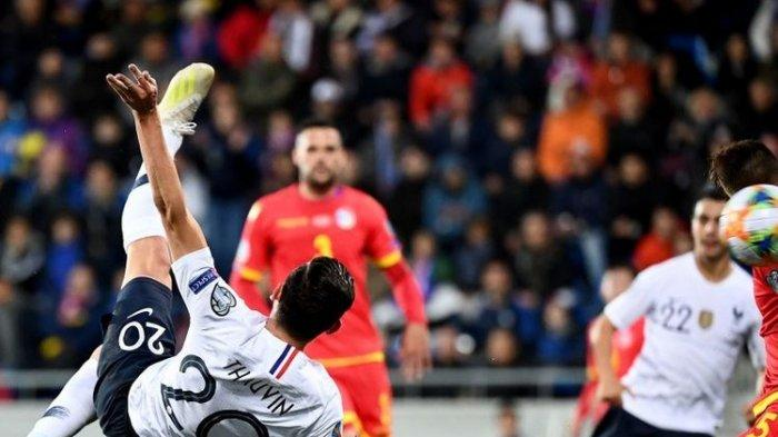 Hasil Kualifikasi Euro 2020 pada Rabu (11/6), Kemenangan Telak Timnas Jerman, Perancis, Italia