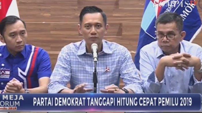 Partai Demokrat Bergejolak, Muncul Desakan KLB, Minta Agus Harimurti Yudhoyono Gantikan SBY.