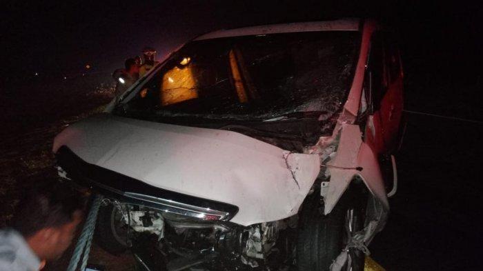 Ahmad Hanafi Rais mengalami kecelakaan lalu lintas beruntun di Tol Cipali KM 112.900 tepatnya di Subang