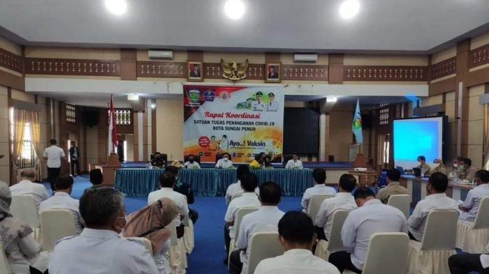 Wali Kota Ahmadi Zubir Minta Dinas KesehatanLakukan Pemetaan Kerawanan Covid-19