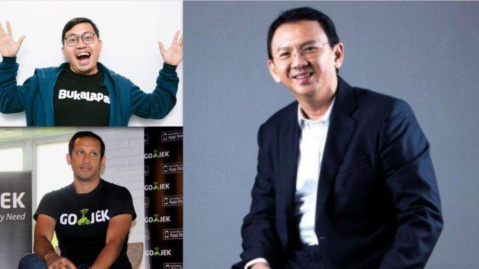 Ahok, CEO Bukalapak hingga Bos Gojek, Santer Jadi Calon Menteri Jokowi, Banyak Tokoh Muda Lainnya