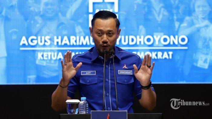 AHY Malah Begini Saat Muncul Desakan Minta Maaf Pada Presiden Jokowi Soal Tuduhan Cikeas