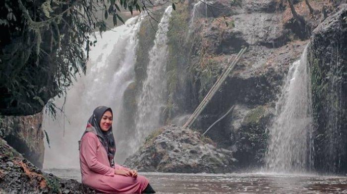 Eksotisnya Objek Wisata Air Terjun Mukus di Merangin, Ada Belasan Aliran Air Terjun