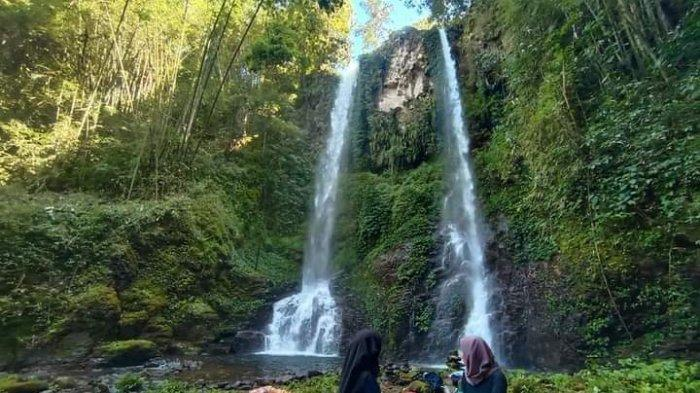 Menikmati Eksotisnya Air Terjun Goa Kambing Kabupaten Merangin
