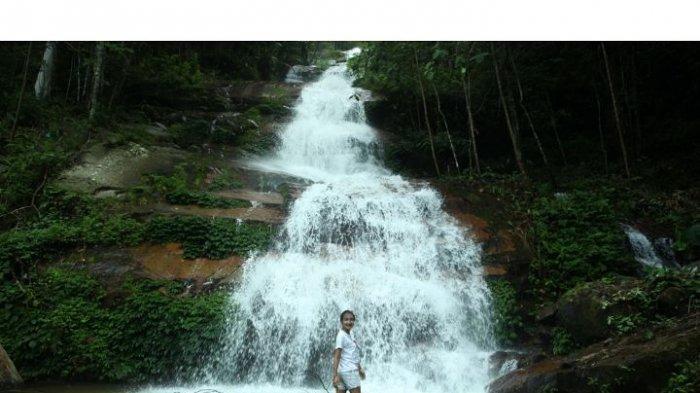 Surga Tersembunyi di TNKS Diincar Banyak Orang, Misteri Air Terjun Talang Kemulun 12 Tingkat