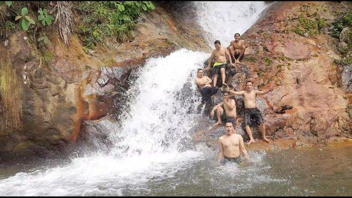 Air Terjun Telago Jando Wisata Menarik Kabupaten Bungo yang Sedang Ramai Dikunjungi Wisatawan