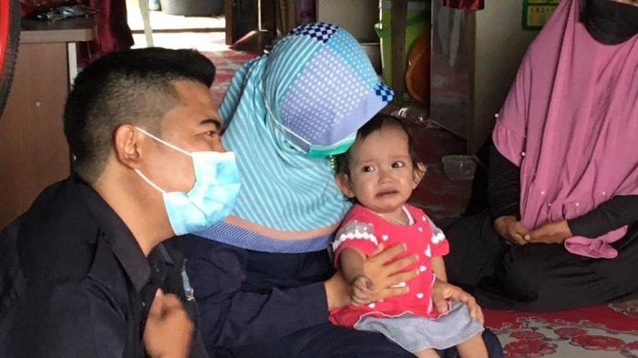 Kisah Aisyah Balita Pengidap Pembengkakan Jantung di Tanjabbar, Bercak Biru Muncul sejak 6 Bulan