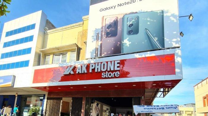 AK Phone Buka Store di Padang, Beli Smartphone Double Untungnya