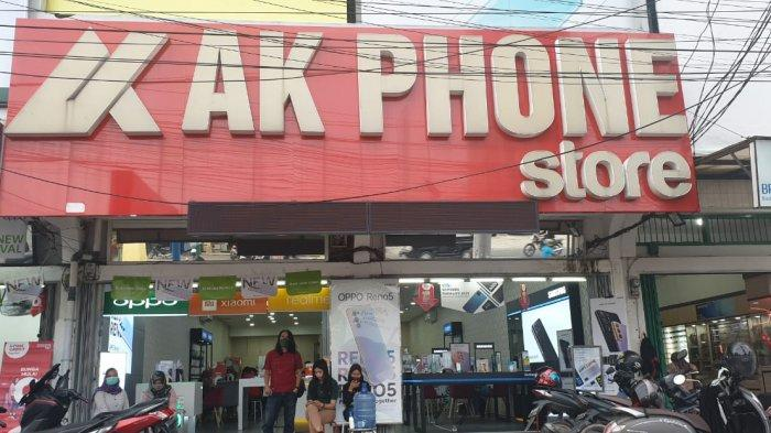 AK Phone Store, Sipin.