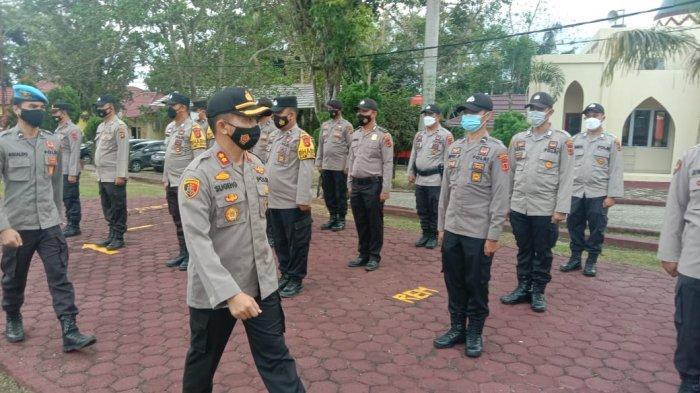 Ada Potensi Rawan Konflik, 208 Personil Polres Sarolangun Dikerahkan Untuk Amankan Pilkdes Serentak