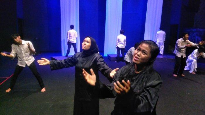 Akhir Pekan ini Ada Pertunjukan Tak (Tik) Senja Menjemput, Dari Teater Tonggak di Taman Budaya Jambi