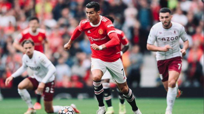 HASIL Babak Pertama Man Utd vs Aston di Liga Inggris, Shaw Digantikan Dalot, Skor 0-0