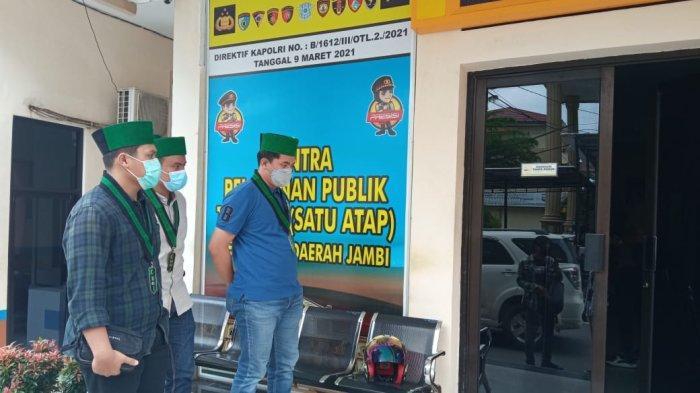 Diduga Represif saat Amankan Aksi Demo, Oknum Polisi di Merangin Dilaporkan HMI Badko Jambi ke Polda