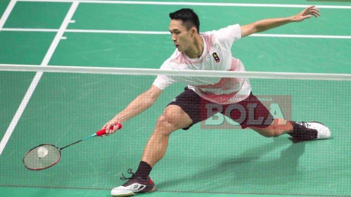 Live Score Fuzhou China Open 2018 Jonatan Christie Sebentar Lagi Tanding, Mulai 14.00 WIB