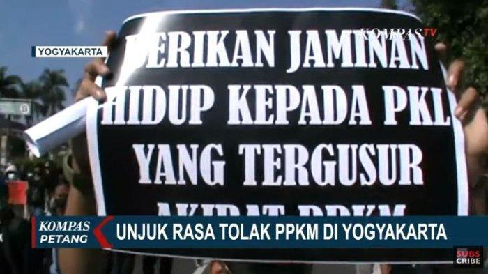 Tolak PPKM di Yogyakarta, Mahasiswa: Justru Ekonomi Masyarakat yang Turun